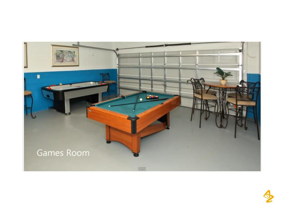 Game Room with resting area