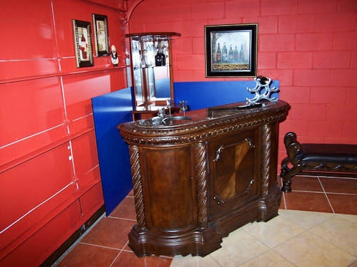 bar in game room