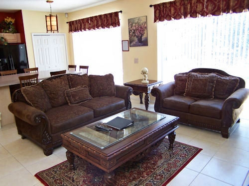 Family room sofa