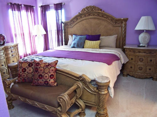 Master king bedroom upstairs