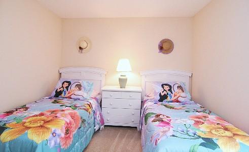 Bedroom 4 - 2 twins