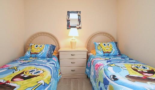 Bedroom 5 - 2 twins