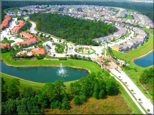 Resort bird eye's view